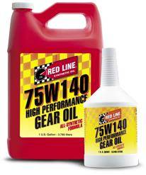 Redline - 75W140 GL-5 Gear Oil Gallon