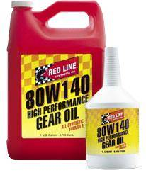 Redline - 80W140 GL-5 Gear Oil Quart