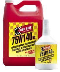 Redline - 75W140 NS GL-5 Gear Oil Quart