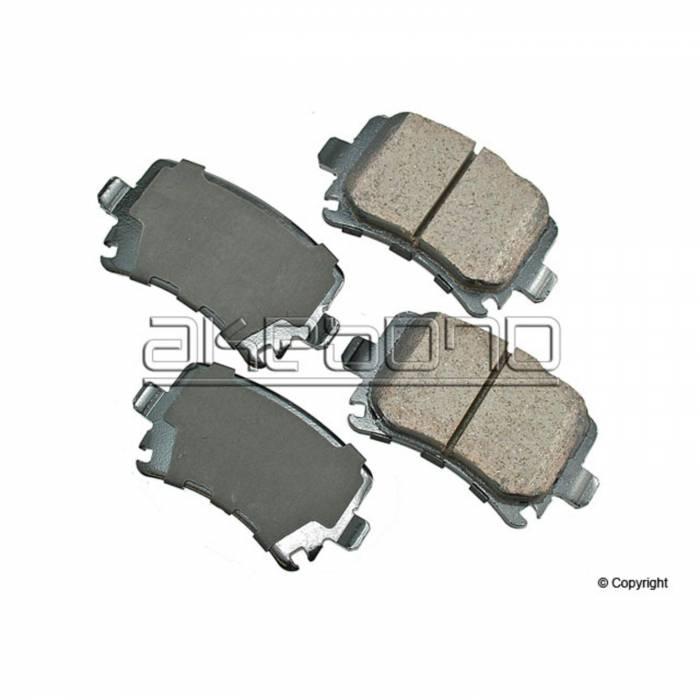 Akebono - Akebono Ceramic Rear Brake Pads [1K0698451F] [Akebono]