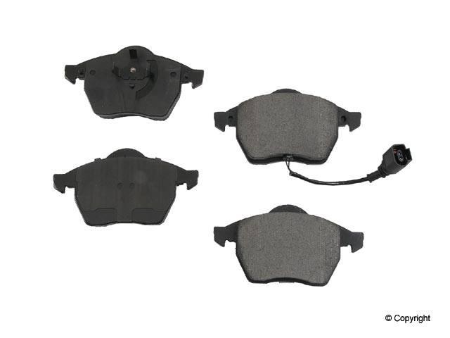 Hudson - Power Stop Ceramic Front Brake Pads (1.8T) (VR6)