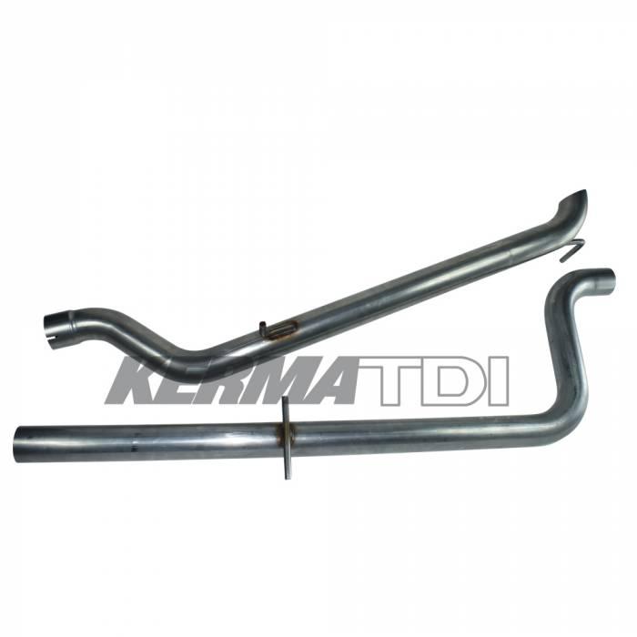 KermaTDI - 2.5 inch Stainless Cat-Back Exhaust System MK4 TDI [ALH Cat back]