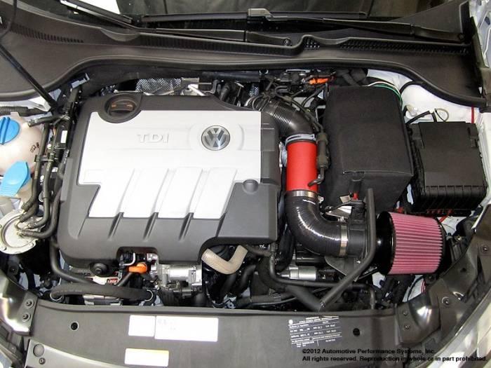 Neuspeed - P-Flo Air Intake Kit for Common Rail Aud A3, VW Jetta, Golf