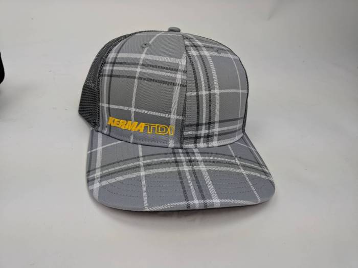 KermaTDI - Plaid Grey Hat