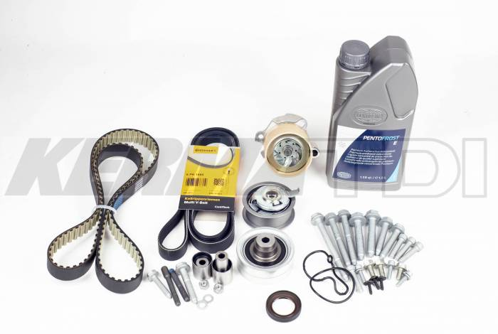 KermaTDI - 100,000 mile Complete Timing belt kit (Mk4 ALH)