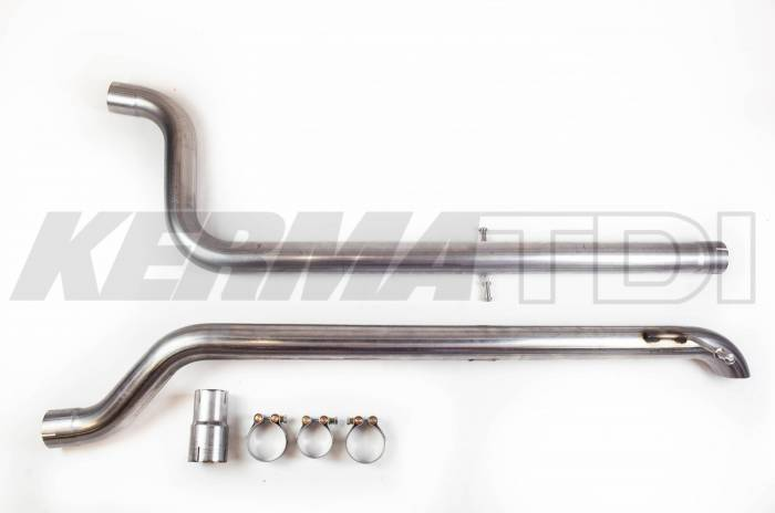 KermaTDI - 2.5 inch Stainless Cat-Back Exhaust System MK4 TDI [Cat Back]