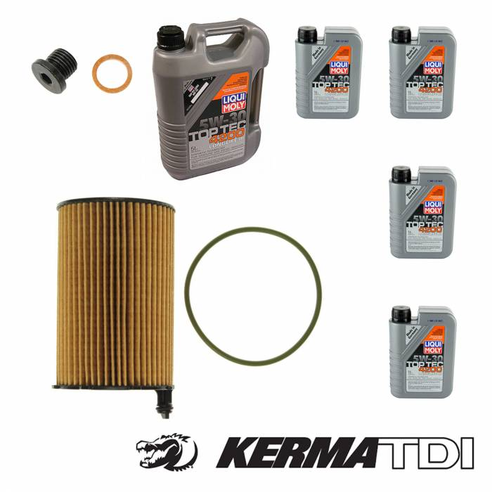 Various but Always Quality - Oil Change Kit (CATA)
