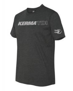 KermaTDI - KermaTDI Tshirt (Grey with Silver Letters) - Image 1