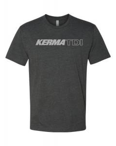 KermaTDI - KermaTDI Tshirt (Grey with Silver Letters) - Image 2