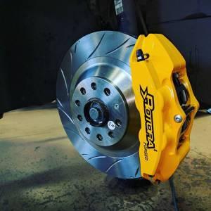 Rotora - Rotora Complete 4 piston Brake System. (328mm Rotors) Mk5-Mk7 VW & Audi A3 - Image 1