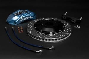 Rotora - Rotora Complete 4 piston Brake System. (328mm Rotors) Mk5-Mk7 VW & Audi A3 - Image 2