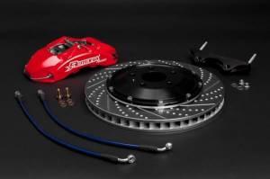 Rotora - Rotora Complete 4 piston Brake System. (328mm Rotors) Mk5-Mk7 VW & Audi A3 - Image 3