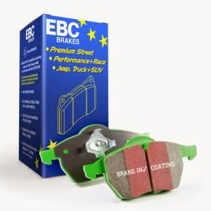 EBC GREENSTUFF PADS FRONT set for Sprinter 2500 3.0L and 2.1L - Image 2