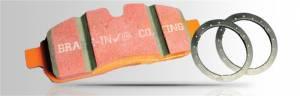 EBC Brakes - EBC Extra Duty Front Brake Pad Set - Image 1