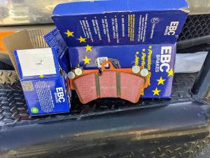 EBC Brakes - EBC Extra Duty Front Brake Pad Set - Image 2