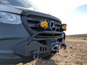 CATUNED OFF-ROAD 2019+ SPRINTER HAMMERHEAD BUMPER - Image 2