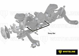 Whiteline - Whiteline Rear Sway Bar 24mm Rear for BRM and CR - Image 5